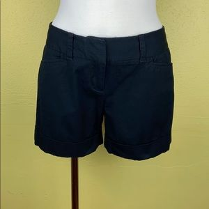 The Limited Drew fit black shorts size 0
